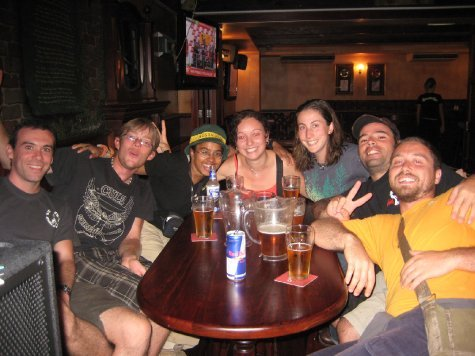 Celebrating the end of the (very long) road in Darwin