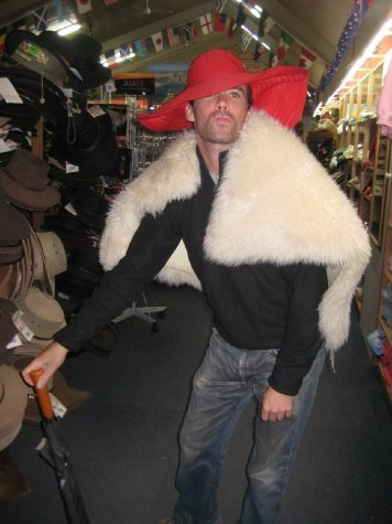 Me pimping it up in Sydney