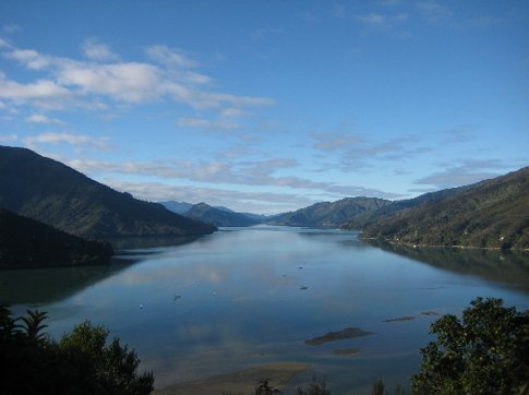 On the road between Picton and Nelson