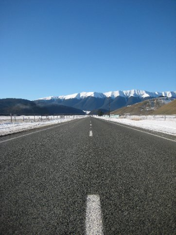 On the road between St Arnaud and the West Coast