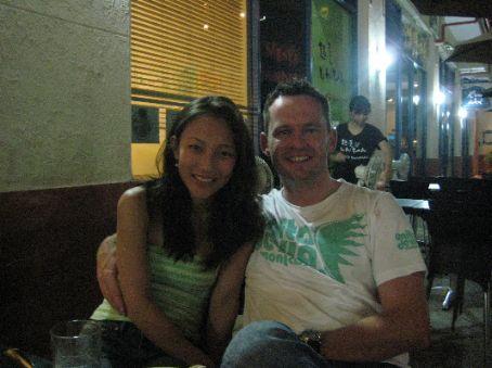 Mark & Jess looking happy