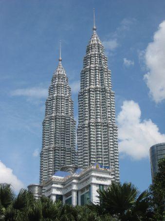 The Petronas Towers, Kuala Lumpur