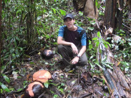 Me and a Rafflesia bud