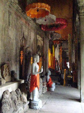 The Hall of a Thousand Buddhas, Angkor Wat
