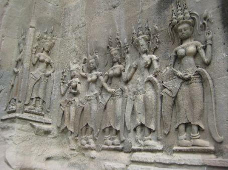 Bas-relief, Angkor Wat