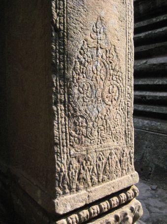 Stone carving at The Bayon