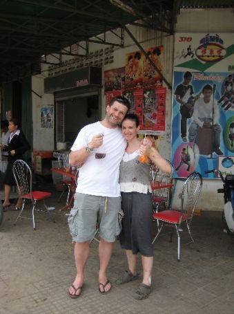 Simon & Maria in Battambang
