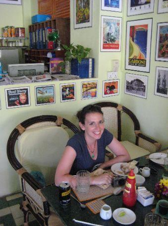 Maria at the Garden Cafe Centre