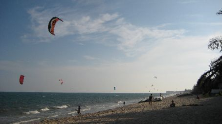 The beach at Mui Ne