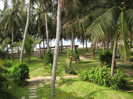 View from our room, Mui Ne