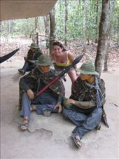 Maria at the Cu Chi Tunnels: by markr_mcmahon, Views[254]