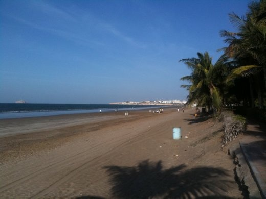 The Beach in Muscat