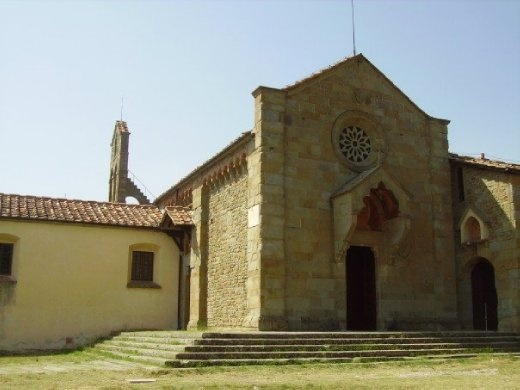 A chapel at the top of one of the hills that surround Florence.