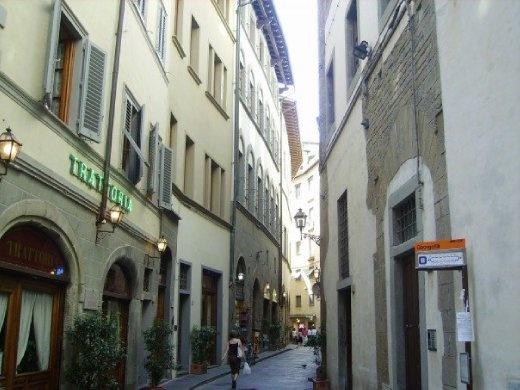 A typical Italian street