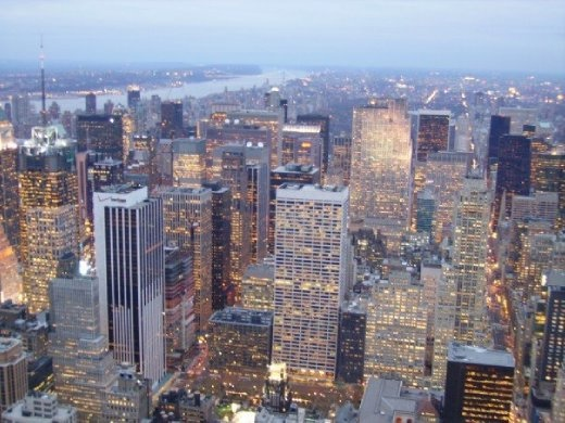 And another view from the Empire State Building.