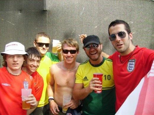 Some of the guys we met in Frankfurt.