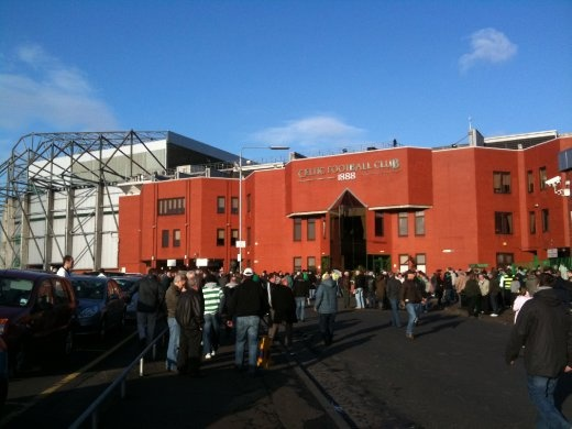 Parkhead aka Celtic Park, home of Celtic FC.