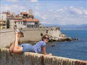 Han posing in front of the old wall view: by mascha_z, Views[287]