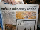 The Metro News paper-London underground: by matieyuma, Views[175]