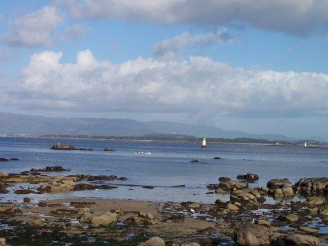 View from Isla de la Toja