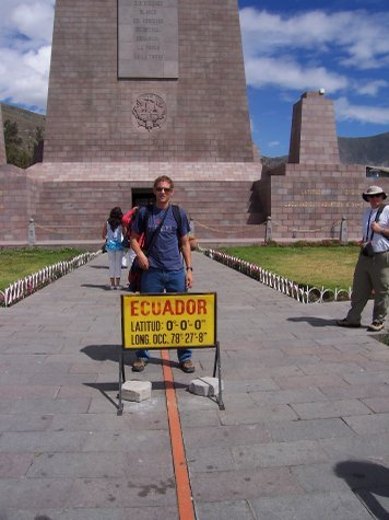 Me on equator