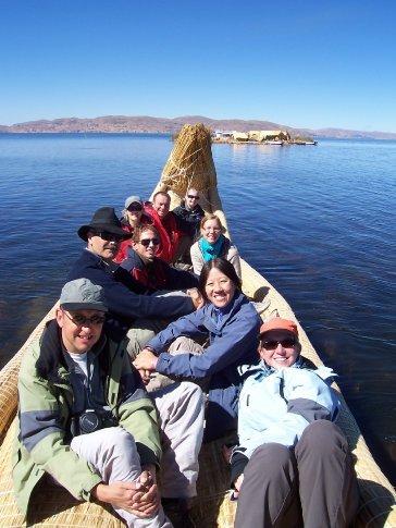 reed boat trip