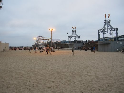 Day 1 - Santa Monica Pier. Catching up with friends for a summer concert.