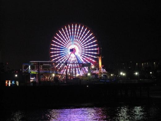 Glitteratti at the pier