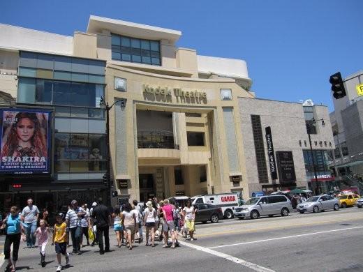Kodak Theatre. wow