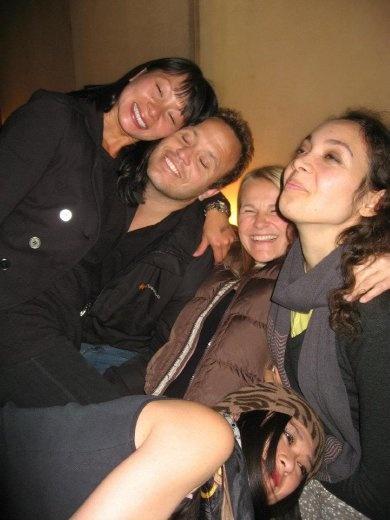 Tasteful group photo