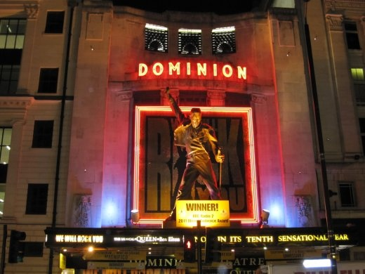 We Will Rock You at the Dominion - quality show