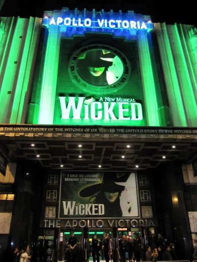 Wicked, last night in London