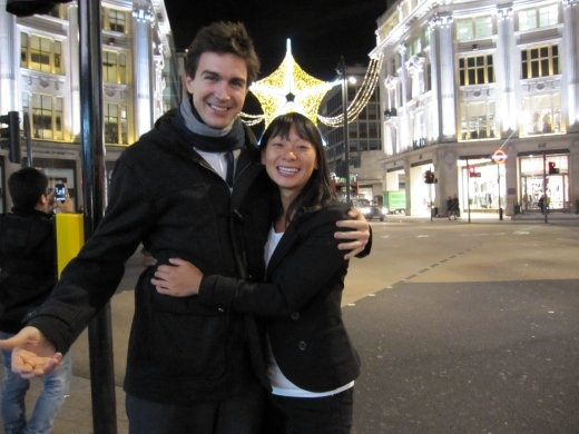 Running into  with Antonio @ Oxford Circus