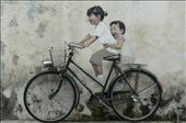 A brilliant wall painting in Georgetown.: by mattandnetty, Views[500]
