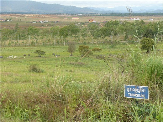 View from the Plain of Jars