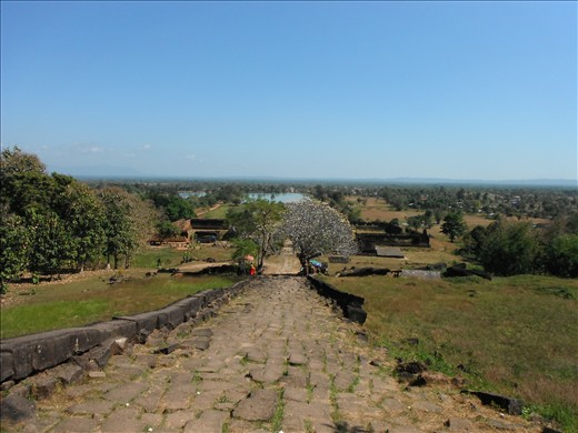 View from Phou Vat