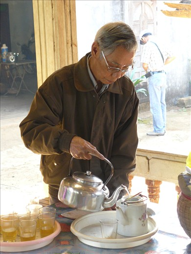 The owner of the tea plantation