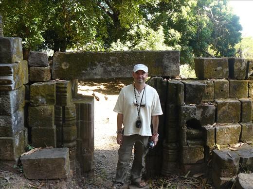 Matt at Phou Vat
