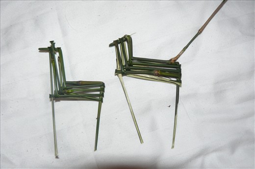 Bamboo horse made by an 11 year old