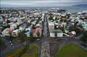 Reykjavik from the top of the Hallgrímskirkja Church: by matto66, Views[104]