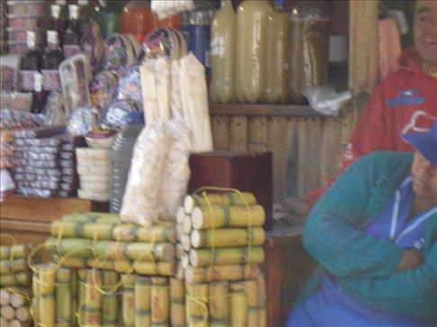 vendeur (dormant) de jus de canne a sucre