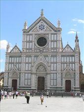 Santa Croce church, Florence: by mavis_prosser, Views[176]