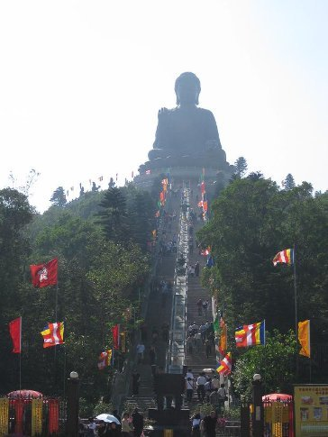 Its a long way to the top if you...wanna look at Buddha!  (268 steps!)