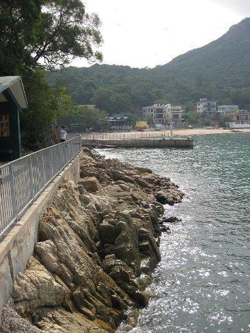 Mo Tat Wan bay, Lamma Island. Taken from the Kai-to Pier.
