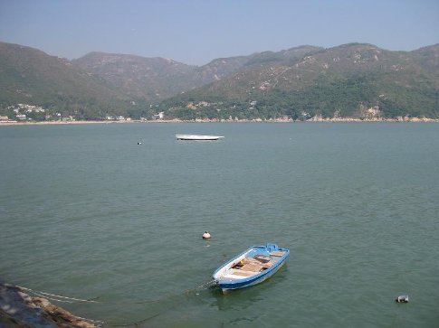The lovely Silver Mine Bay, Lantau Island. I would totally live on this island if I could. It was beautiful and I saw flats for sale!! :D