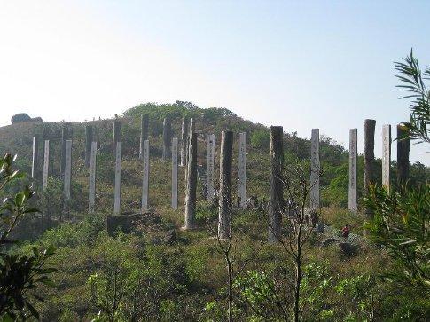 Hong Kongs answer to Stone Henge! This was also on Lantau Island.