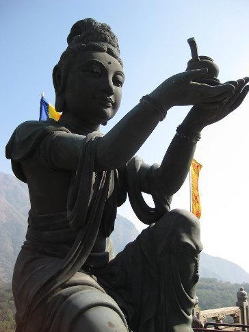 Po Lin Monastery, Lantau Island.
