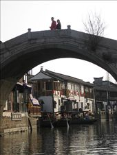 One of the gorgeous arch bridges in the city. Zhujiajiao. : by mazystar, Views[251]