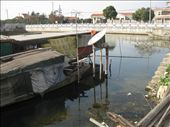 They might live in a rusty boat, but at least they have satellite tv. Zhujiajiao.: by mazystar, Views[232]