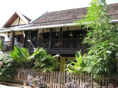 One of the pretty little houses around Luang Prabang.